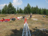 Inceperea constructiei unui turn meteo 40m, Cluj